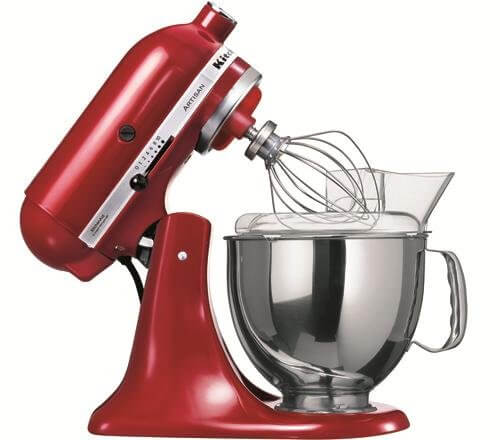 KitchenAid Küchenmaschine Artisan rot 5KSM150PSEER - Hier finden Sie ...