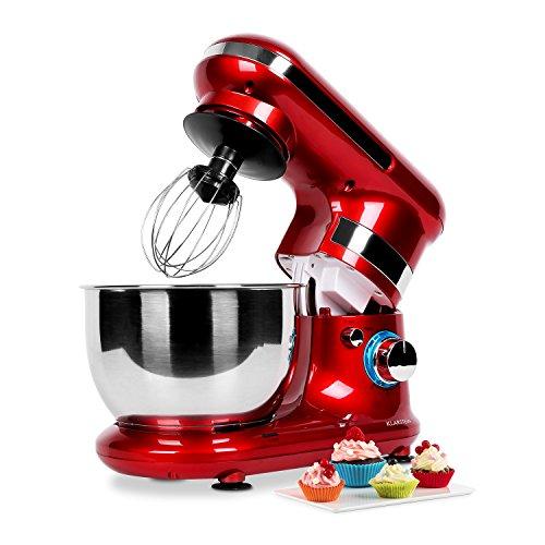 Klarstein TK18-Serena Rossa Küchenmaschine 600 W, rotHier finden Sie ...